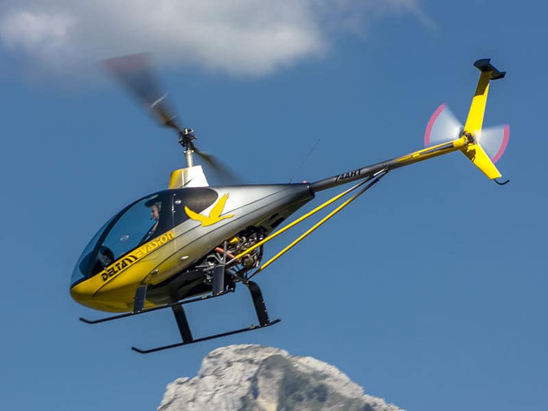 bapteme en hélicoptère à Annecy